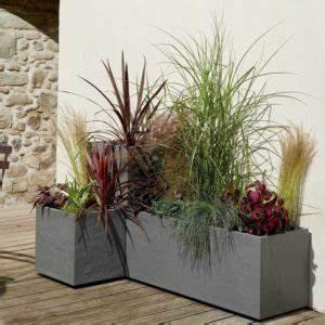 Bac Rectangulaire Pour Bambou : pots exterieur ~ Nature-et-papiers.com Idées de Décoration