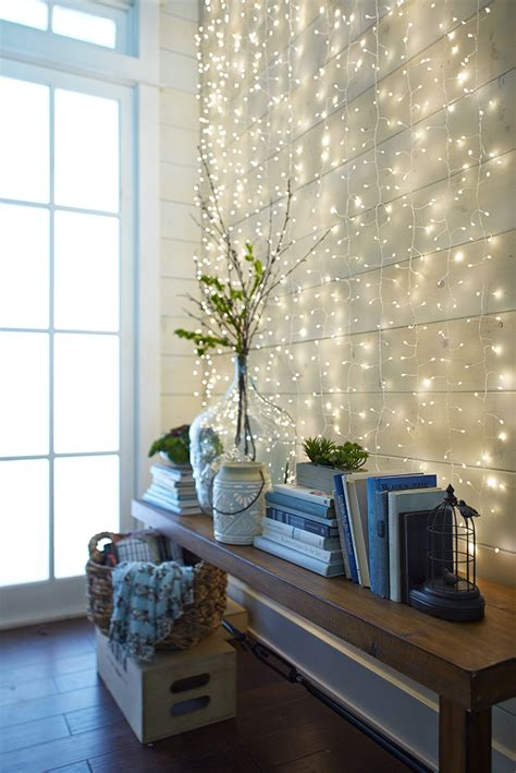 Using letters is also an interesting idea for a picture wall because decorating walls with pictures shouldn't be boring. Inspiring Wall String lights That Will Steal The Show