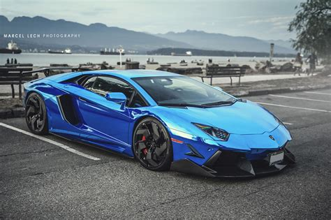 cost of front door lamborghini aventador lp 766 4 in chrome blue front