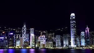 Hong Kong skyline 4K Ultra HD wallpaper