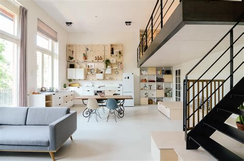 Small Loft In An School by Schoolhouse Converted Into 10 Loft Apartments