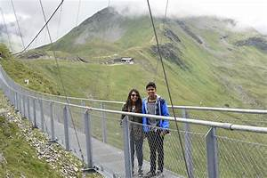 Stubnerkogel : Walking on the highest suspension bridge in ...