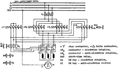 delta wiring diagram motor starter y siemens
