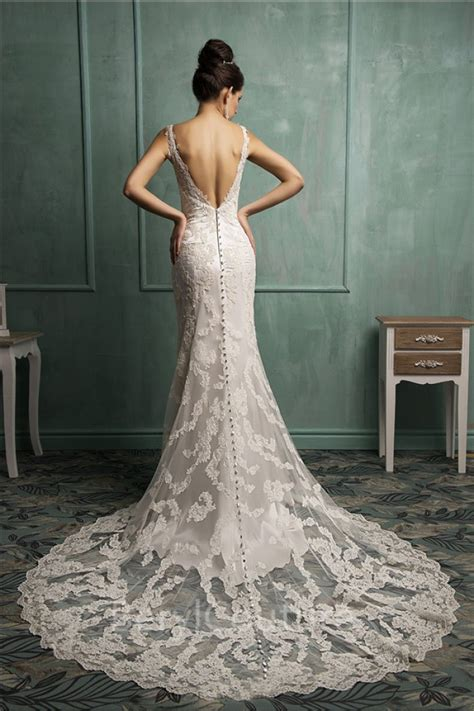 36 Low Back Wedding Dresses Page 3