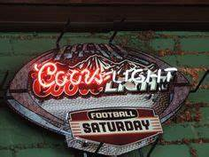 Neon Beer Sign Seattle Mariners Baseball Coors