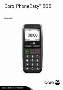 Doro Phoneeasy 505 Mobile Phone Download Manual For Free