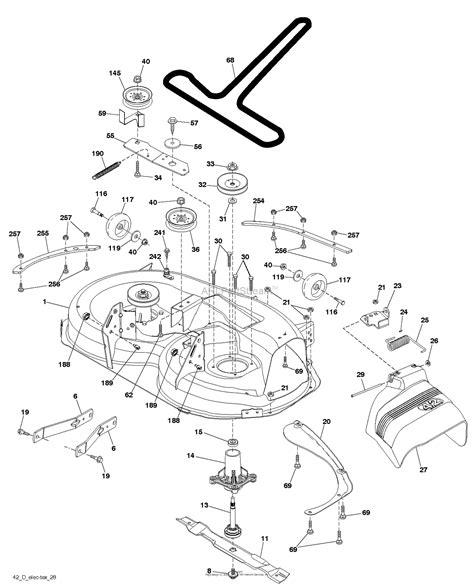 Deck Part Diagram by Husqvarna Yth22k42 96048005600 2013 09 Parts Diagram