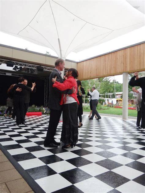 Slate White Dance Floor   SnapLock Dance Floors