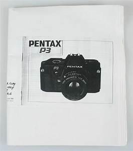 Pentax P3 Instruction Manual