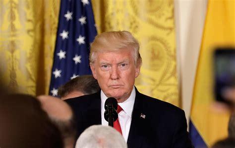 trump conference desperate enough himself press pardon donald kevin scandal nation arrives reuters lamarque joint