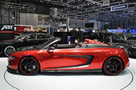 2018 Abt Audi R8 Spyder Gts Dark Cars Wallpapers