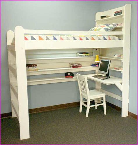 bunk beds with desk ikea ikea size loft bed with desk home design ideas