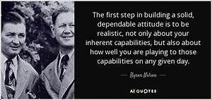 Byron Nelson qu... Solid Attitude Quotes