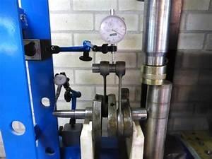 Overhaul Of A 2-cylinder Crankshaft