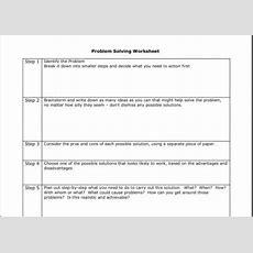 Image Result For Cbt Problem Solving Worksheets  Funny  Cbt, Problem Solving, Dbt