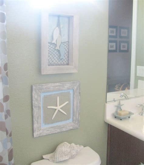 diy bathroom decor beach bathroom wall decor