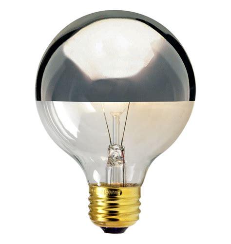 60w large chrome tip globe bulb rejuvenation