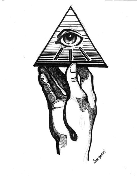 holding the all seeing eye 2 by O-b-s-e-r-v-e-R on DeviantArt | Illuminati / Auge / Eye