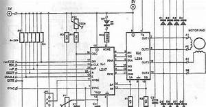 stepper motor driver circuit diagram simple schematic With servo motor circuit