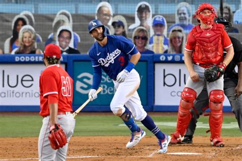 Dodgers beat Angels in their exhibition finale behind ...