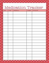 hd wallpapers printable medicine tracking chart