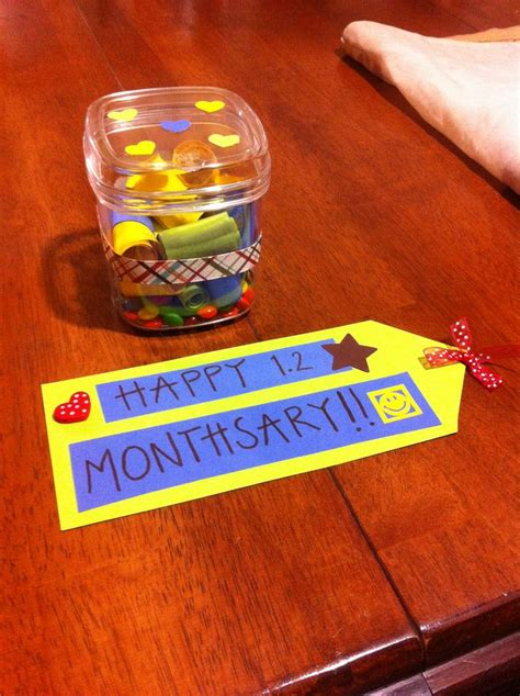 Monthsary  Ee  Gift Ee   Monthsary Pinterest Gifts