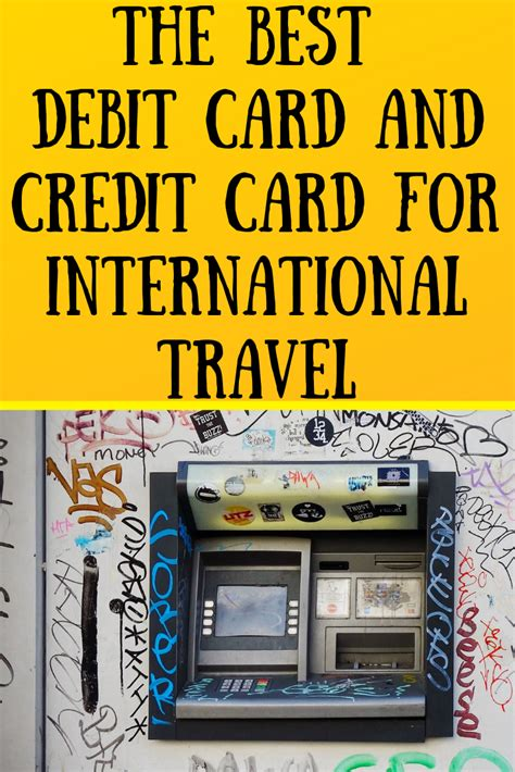 A generous base rewards program (2x points on restaurant and travel purchases; The Best Debit Card and Credit Card for International Travel | How to get money, Travel, Cards