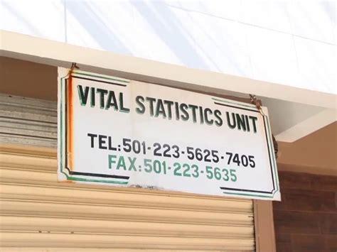 whats   vital stats unit ag explains