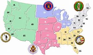 United States Army Recruiting Command  Location Of Brigades