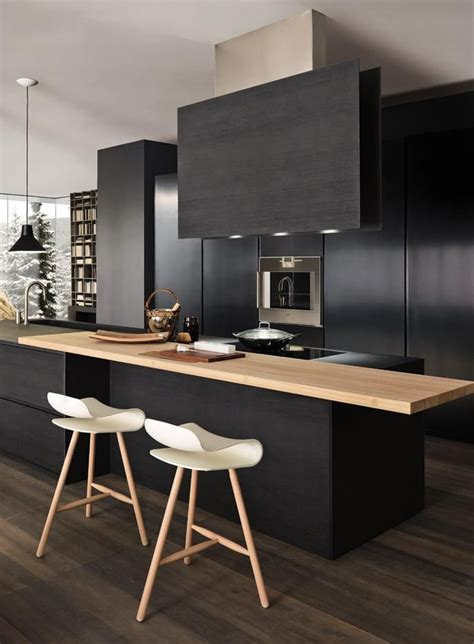 25 absolutely charming black kitchen
