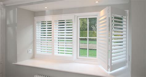 Plantation & Bay Window Shutters Essex  Internal Windows