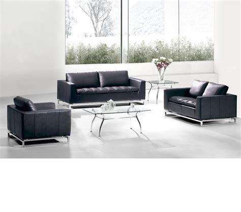 Divani Leather Sofa by Dreamfurniture Divani Casa Manhattan Modern