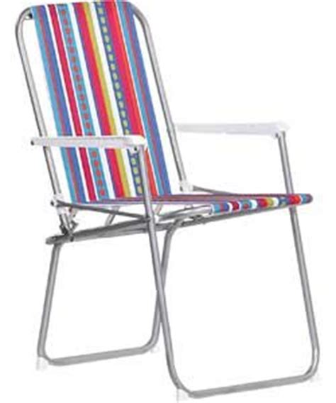 striped folding picnic chair 6510439 co uk