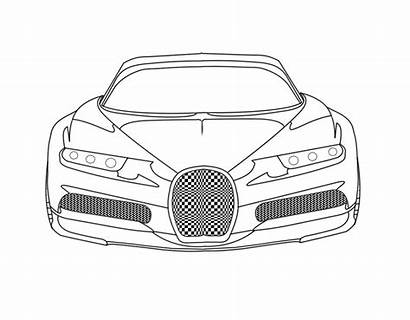 Bugatti Coloring Pages Chiron Printable Colorings Getcolorings