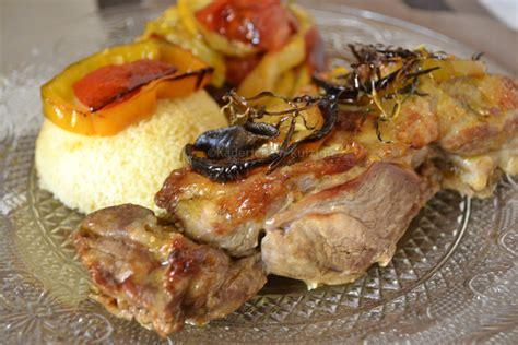 que cuisiner avec des courgettes gigot d 39 agneau aux légumes bio rôtis et semoule par kaderick