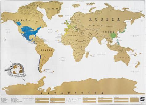 carte monde a gratter la carte du monde 224 gratter une carte du monde