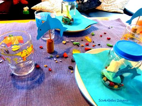 kindergeburtstag zuhause feiern ideen schokol 228 dles zuhause delfin kindergeburtstag