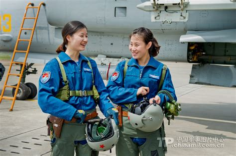 Chinese Air Force Female Fighter Pilots