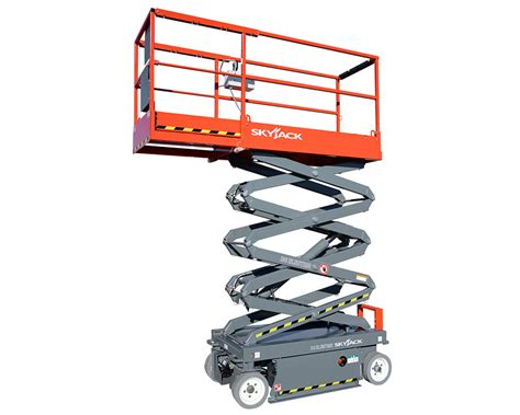 Aerial Electric Scissor Lift Rental Equipment