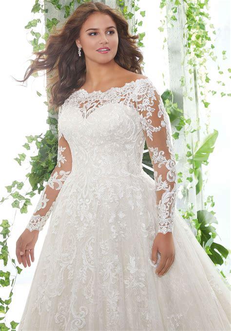 Patience Plus Size Wedding Dress | Style 3258 | Morilee