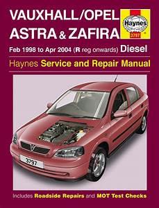Vauxhall  Opel Astra  U0026 Zafira Diesel  Feb 98