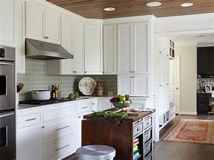 semi custom kitchen cabinets pictures ideas from hgtv With kitchen colors with white cabinets with custom name wall art