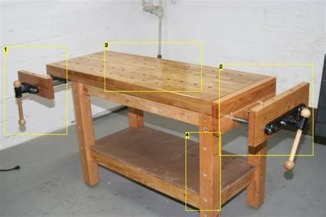 building  real woodworkers workbench  images