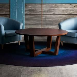 Table Ronde De Salon : table basse ronde style scandinave brin d 39 ouest ~ Teatrodelosmanantiales.com Idées de Décoration