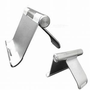 Ständer Für Tablet : universelle aluminiumlegierung verstellbare tischhalterung st nder f r tablet handy silber ~ Markanthonyermac.com Haus und Dekorationen
