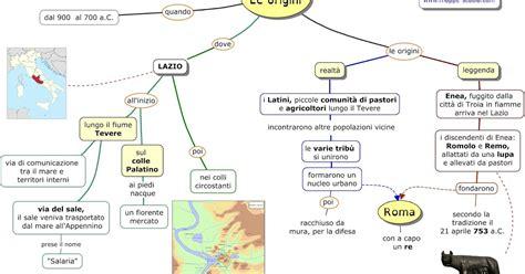 Scienze Della Formazione Primaria Sedi by Mappe Per La Scuola La Civilt 192 Dei Romani Le Origini