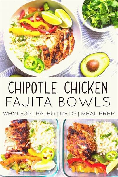 Paleo Meal Weeknight Prep Meals Chicken Easy