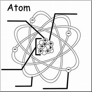 Labeled Diagram Of Atoms : clip art atom b w unlabeled i abcteach ~ A.2002-acura-tl-radio.info Haus und Dekorationen
