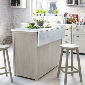 Petit Ilot Cuisine : ilot central cuisine avec table escamotable sm08 jornalagora ~ Premium-room.com Idées de Décoration