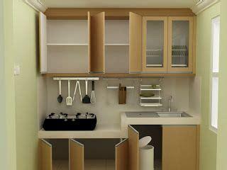 konsep dapur  ruang  sempit  interior